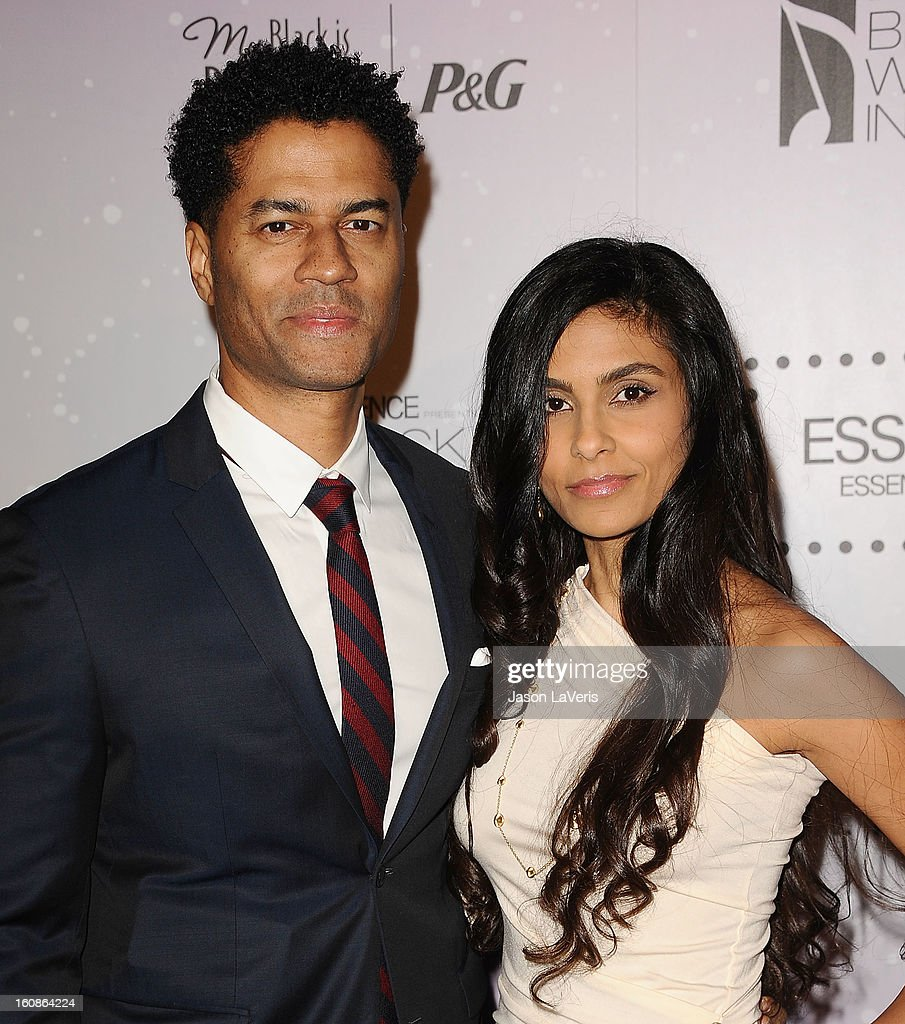 Singer <a gi-track='captionPersonalityLinkClicked' href=/galleries/search?phrase=Eric+Benet&family=editorial&specificpeople=778854 ng-click='$event.stopPropagation()'>Eric Benet</a> and wife <a gi-track='captionPersonalityLinkClicked' href=/galleries/search?phrase=Manuela+Testolini&family=editorial&specificpeople=657395 ng-click='$event.stopPropagation()'>Manuela Testolini</a> attend the 4th annual ESSENCE Black Women In Music event at Greystone Manor Supperclub on February 6, 2013 in West Hollywood, California.