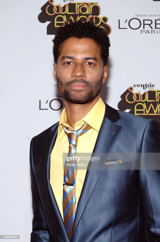 Singer <a gi-track='captionPersonalityLinkClicked' href=/galleries/search?phrase=Eric+Benet&family=editorial&specificpeople=778854 ng-click='$event.stopPropagation()'>Eric Benet</a> arrives at the Loreal Style Stage at the Soul Train Awards 2012 at PH Live at Planet Hollywood Resort & Casino on November 8, 2012 in Las Vegas, Nevada.