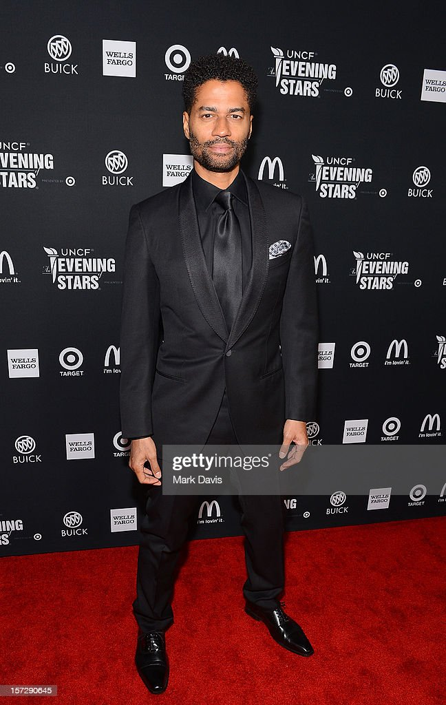 Singer <a gi-track='captionPersonalityLinkClicked' href=/galleries/search?phrase=Eric+Benet&family=editorial&specificpeople=778854 ng-click='$event.stopPropagation()'>Eric Benet</a> arrives at UNCF's 34th Annual An Evening Of Stars held at Pasadena Civic Auditorium on December 1, 2012 in Pasadena, California.