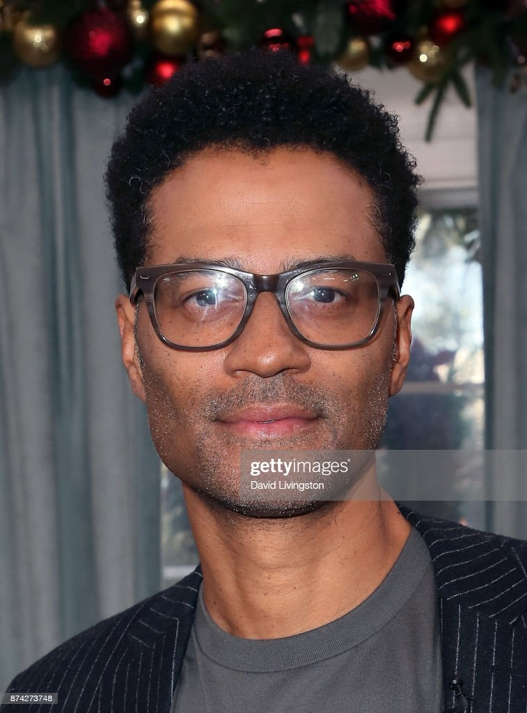 Singer Eric Benet visits Hallmark's 'Home & Family' at Universal Studios Hollywood on November 14, 2017 in Universal City, California.