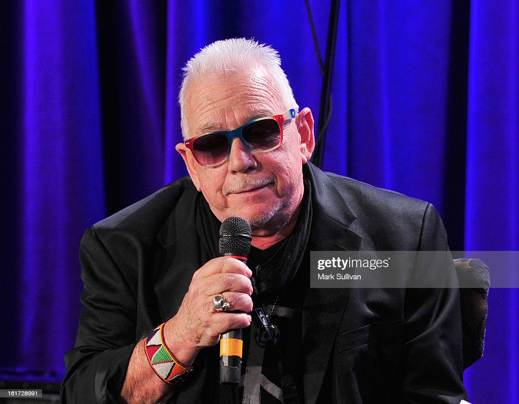 Singer <a gi-track='captionPersonalityLinkClicked' href=/galleries/search?phrase=Eric+Burdon&family=editorial&specificpeople=224514 ng-click='$event.stopPropagation()'>Eric Burdon</a> onstage during An Evening With <a gi-track='captionPersonalityLinkClicked' href=/galleries/search?phrase=Eric+Burdon&family=editorial&specificpeople=224514 ng-click='$event.stopPropagation()'>Eric Burdon</a> at The GRAMMY Museum on February 14, 2013 in Los Angeles, California.