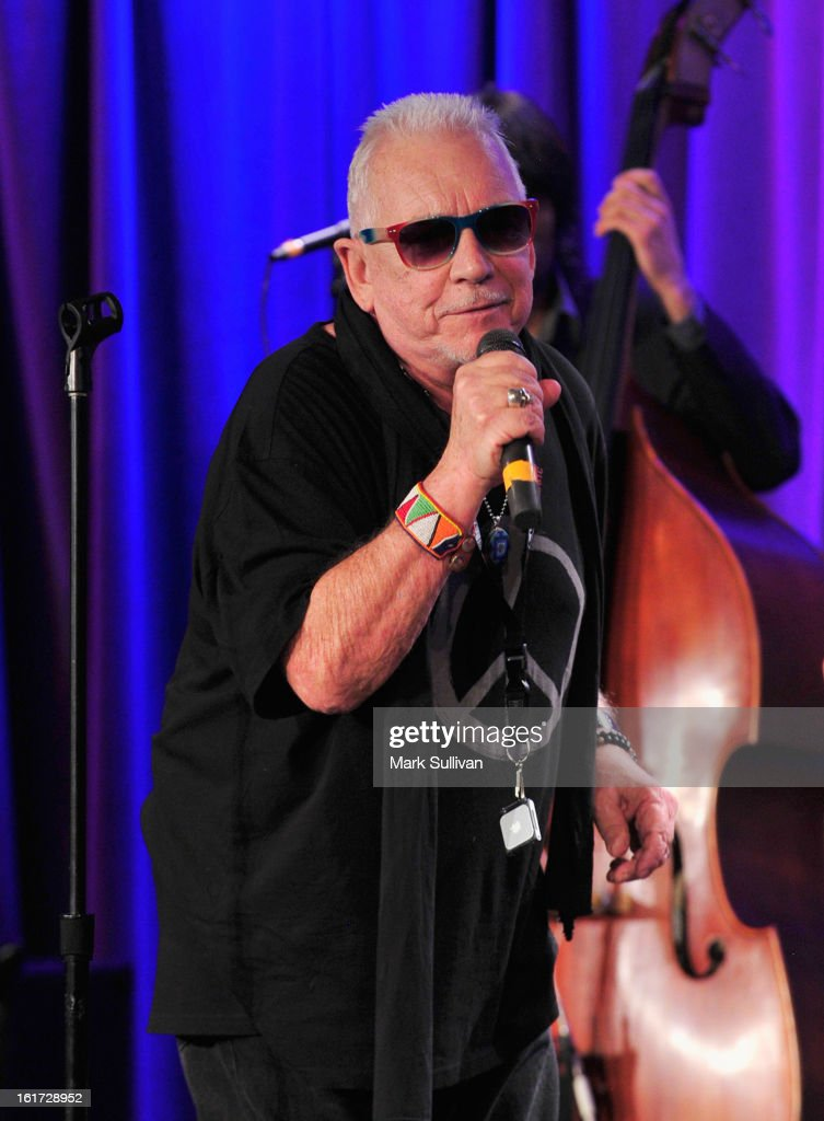 Singer <a gi-track='captionPersonalityLinkClicked' href=/galleries/search?phrase=Eric+Burdon&family=editorial&specificpeople=224514 ng-click='$event.stopPropagation()'>Eric Burdon</a> performs during An Evening With <a gi-track='captionPersonalityLinkClicked' href=/galleries/search?phrase=Eric+Burdon&family=editorial&specificpeople=224514 ng-click='$event.stopPropagation()'>Eric Burdon</a> at The GRAMMY Museum on February 14, 2013 in Los Angeles, California.
