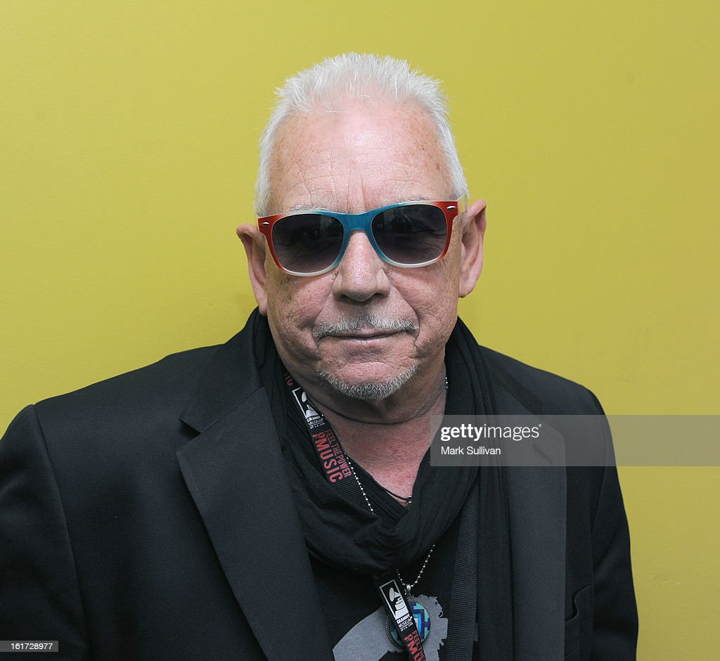 Singer Eric Burdon poses before An Evening With Eric Burdon at The GRAMMY Museum on February 14, 2013 in Los Angeles, California.