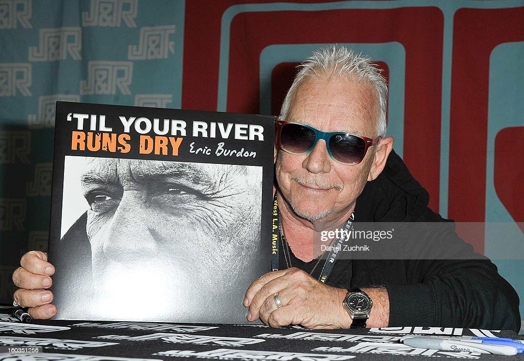 "Eric Burdon Promotes The New CD ""Til your River Runs Dry"""