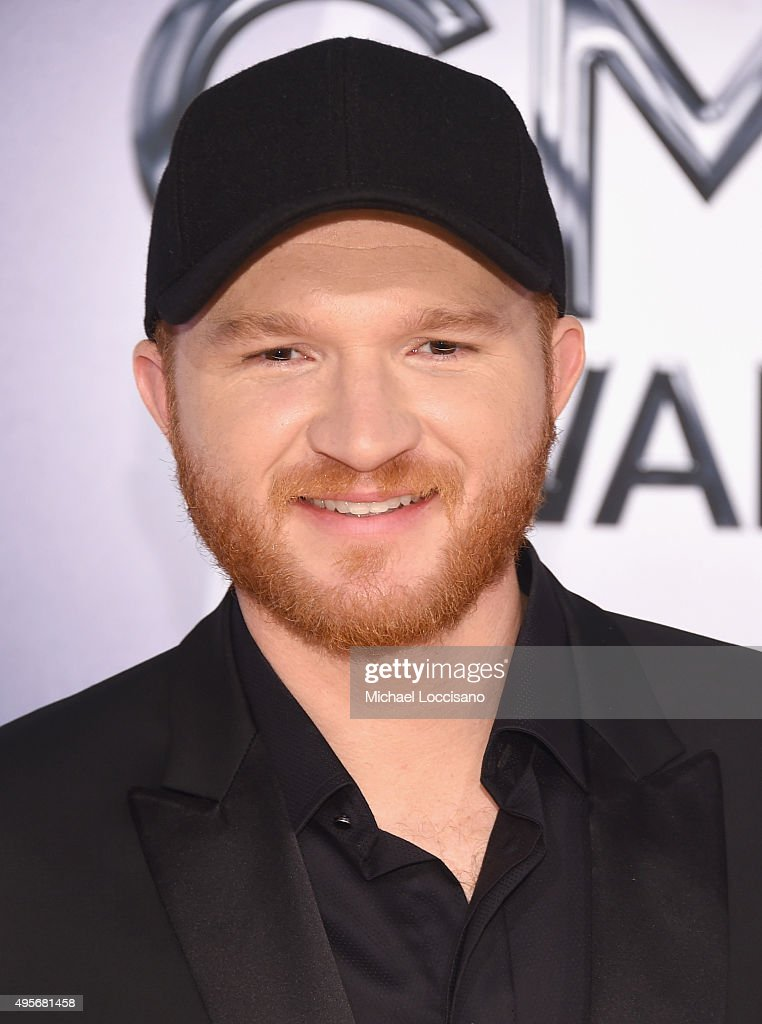 Singer Eric Paslay attends the 49th annual CMA Awards at the Bridgestone Arena on November 4 2015 in Nashville Tennessee