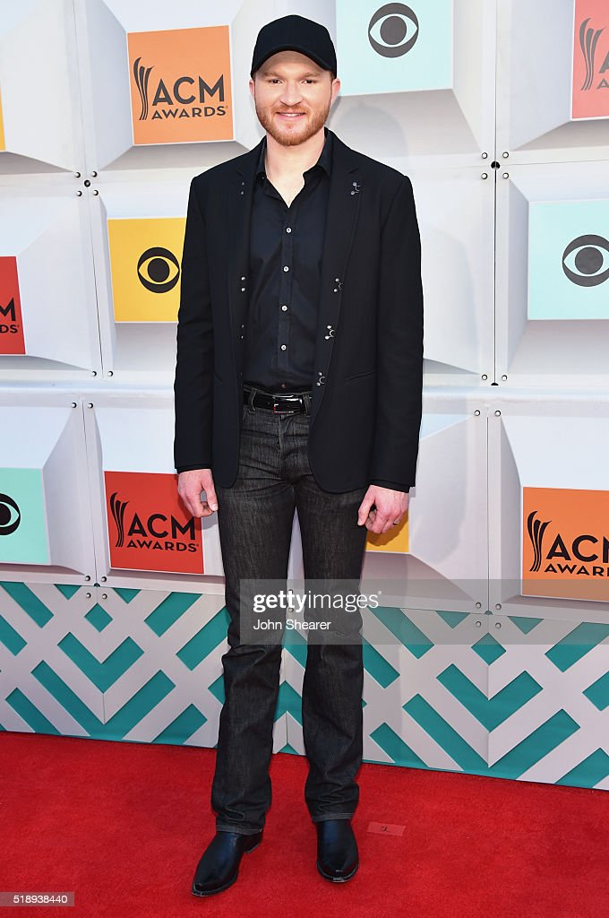 Singer Eric Paslay attends the 51st Academy of Country Music Awards at MGM Grand Garden Arena on April 3 2016 in Las Vegas Nevada