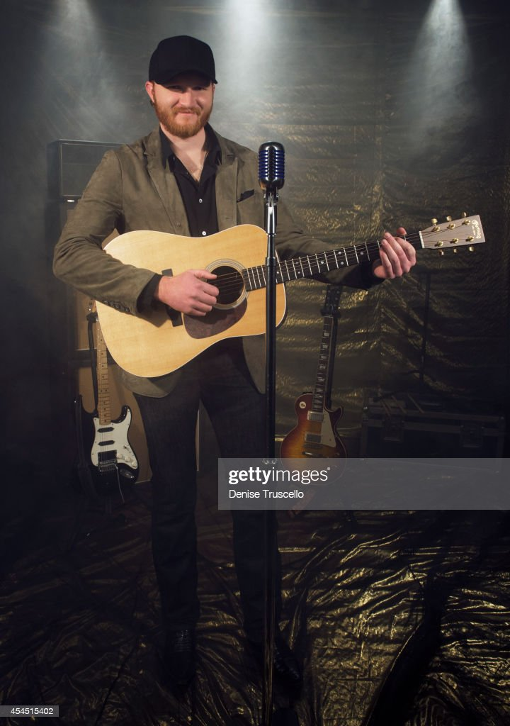 Singer Eric Paslay poses for a portrait at the Academy of Country Music Awards for People Magazine on April 6 2014 in Las Vegas Nevada