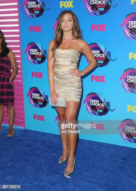 Singer Erika Costell attends the Teen Choice Awards 2017 at Galen Center on August 13 2017 in Los Angeles California