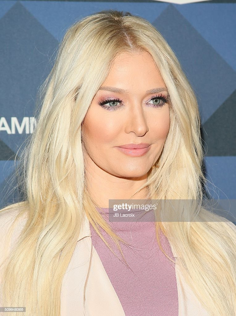 Singer <a gi-track='captionPersonalityLinkClicked' href=/galleries/search?phrase=Erika+Jayne&family=editorial&specificpeople=4140138 ng-click='$event.stopPropagation()'>Erika Jayne</a> attends the Delta Air Lines celebrates 2016 GRAMMY Weekend with 'Sites and Sounds' private performance with Leon Bridges on February 12, 2016 in Hollywood, California.