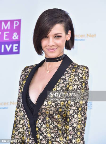 Singer Erin Bowman attends Jump Jive and Thrive at Pauley Pavilion on October 8 2017 in Los Angeles California
