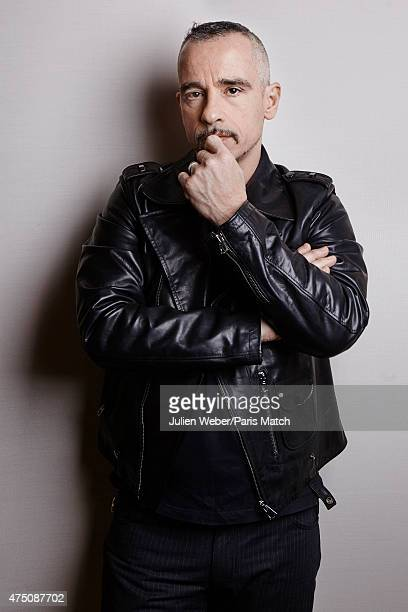 Singer Eros Ramazzotti is photographed for Paris Match on March 5 2015 in Milan Italy