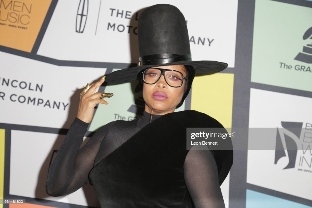 Singer Erykah Badu attends 2017 Essence Black Women in Music at NeueHouse Hollywood on February 9, 2017 in Los Angeles, California.
