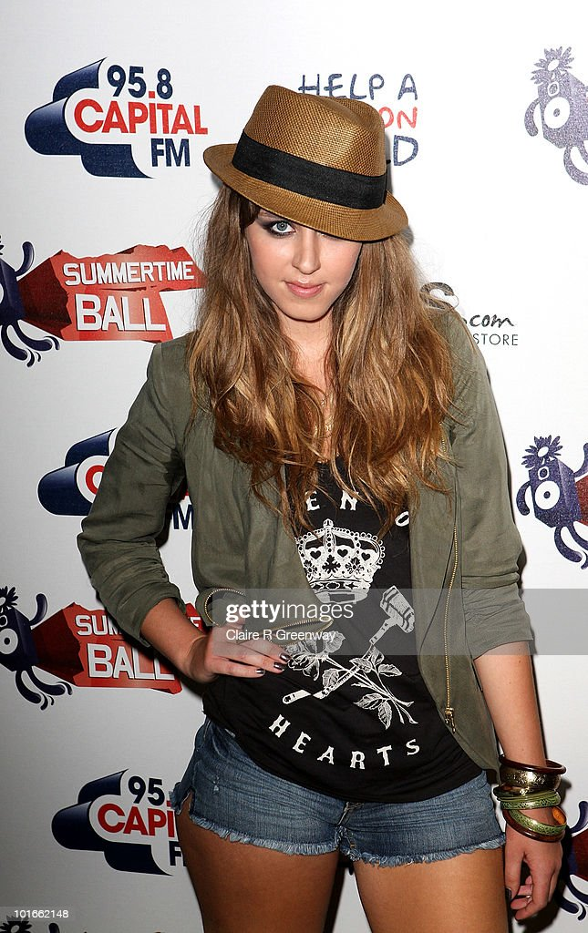 Singer Esmee Denters arrives at the '95.8 Capital FM's Summertime Ball' at Wembley Stadium on June 6, 2010 in London, England.