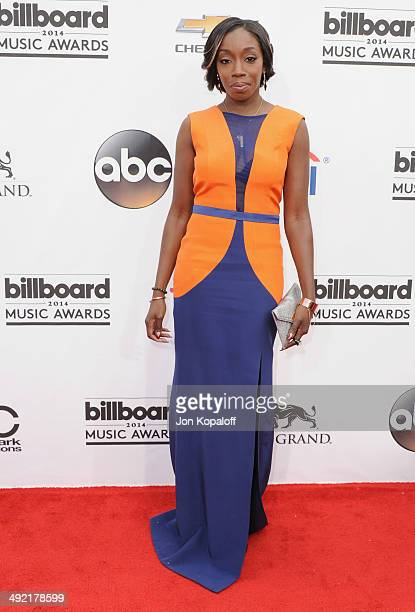 Singer Estelle arrives at the 2014 Billboard Music Awards at the MGM Grand Hotel and Casino on May 18 2014 in Las Vegas Nevada
