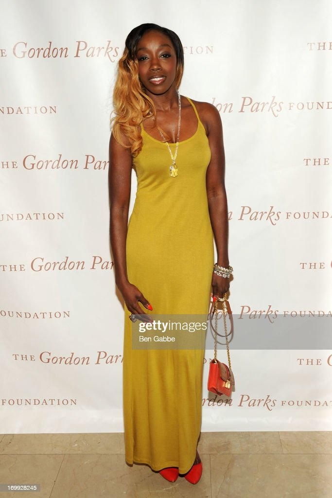 Singer <a gi-track='captionPersonalityLinkClicked' href=/galleries/search?phrase=Estelle+-+Singer&family=editorial&specificpeople=206205 ng-click='$event.stopPropagation()'>Estelle</a> attends 2013 Gordon Parks Foundation Awards at The Plaza Hotel on June 4, 2013 in New York City.