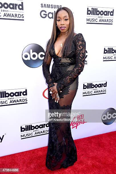 Singer Estelle attends the 2015 Billboard Music Awards at MGM Grand Garden Arena on May 17 2015 in Las Vegas Nevada