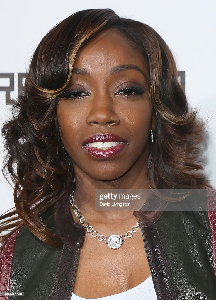 Singer Estelle attends the 2nd Annual will.i.am TRANS4M Boyle Heights benefit concert at Avalon on February 7, 2013 in Hollywood, California.