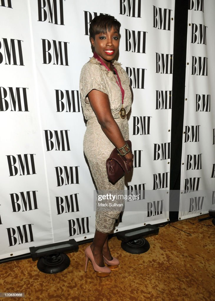 Singer Estelle attends the 58th Annual BMI Pop Awards held at the Beverly Wilshire Hotel on May 18, 2010 in Beverly Hills, California.