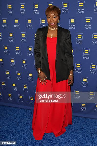 Singer Estelle attends the 7th Annual Unstoppable Foundation Gala held at the JW Marriott Los Angeles at LA LIVE on March 19 2016 in Los Angeles...