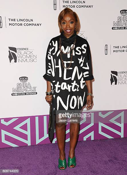 Singer Estelle attends the ESSENCE 7th annual Black Women In Music event at Avalon Hollywood on February 11 2016 in Los Angeles California