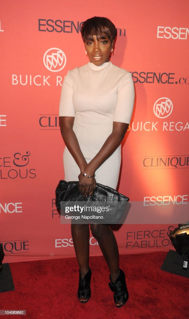 Singer Estelle attends the Essence Magazine 40th Anniversary Fierce Fabulous Awards Luncheon at Mandarin Oriental Hotel on September 13 2010 in New...