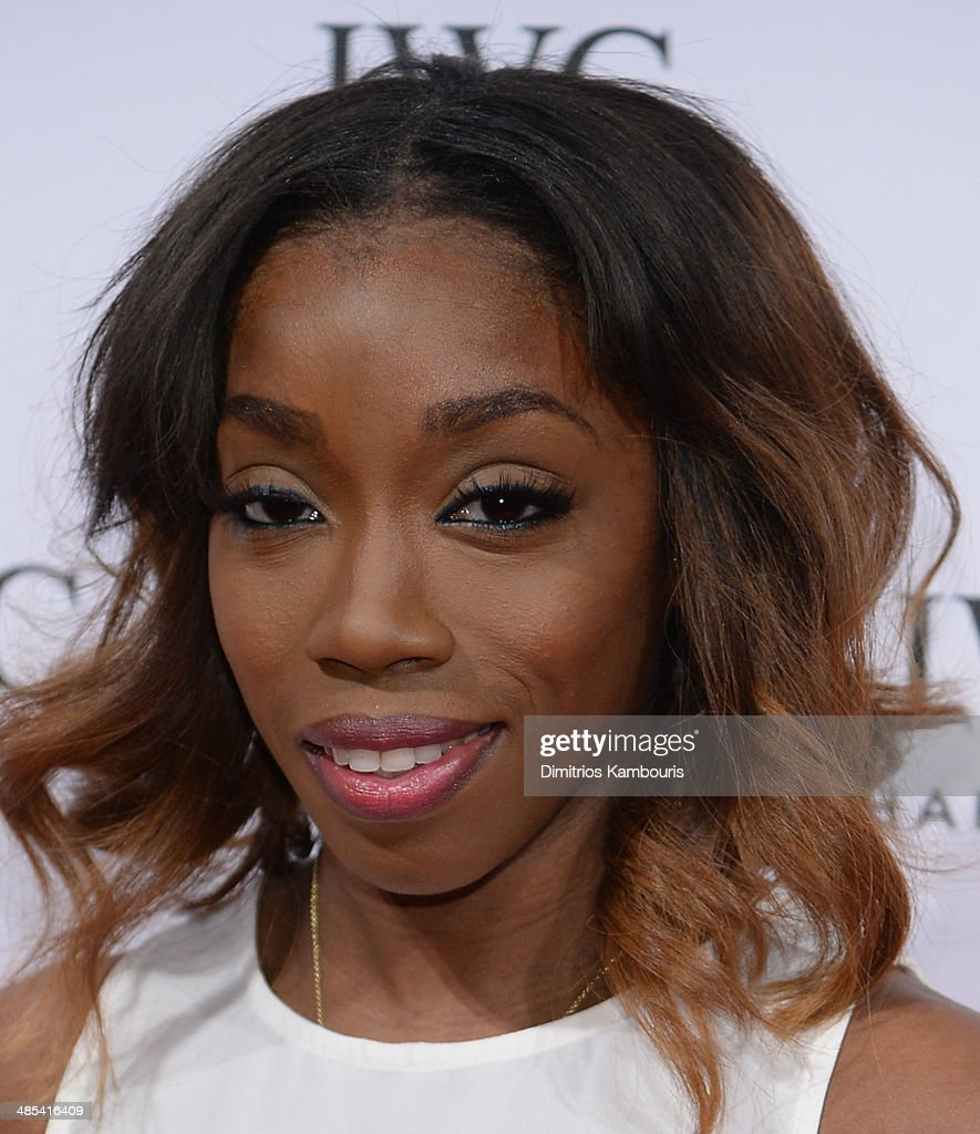 Singer Estelle attends the 'For the Love of Cinema' dinner hosted by IWC Schaffhausen and Tribeca Film Festival at Urban Zen on April 17, 2014 in New York City.