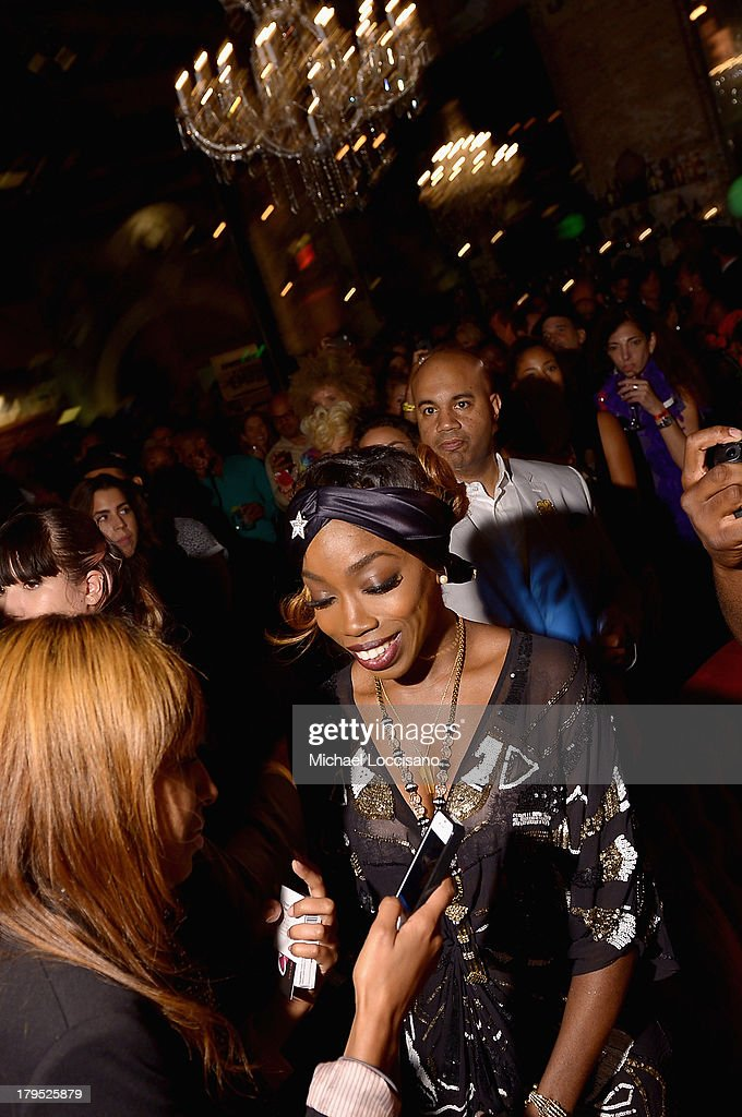 Singer <a gi-track='captionPersonalityLinkClicked' href=/galleries/search?phrase=Estelle+-+Singer&family=editorial&specificpeople=206205 ng-click='$event.stopPropagation()'>Estelle</a> attends the HBO Boardwalk Empire Fashion Fete with June Ambrose at Houston Hall on September 4, 2013 in New York City.