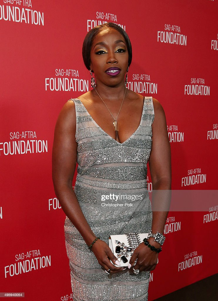 Singer <a gi-track='captionPersonalityLinkClicked' href=/galleries/search?phrase=Estelle+-+Singer&family=editorial&specificpeople=206205 ng-click='$event.stopPropagation()'>Estelle</a> attends the Screen Actors Guild Foundation 30th Anniversary Celebration at Wallis Annenberg Center for the Performing Arts on November 5, 2015 in Beverly Hills, California.