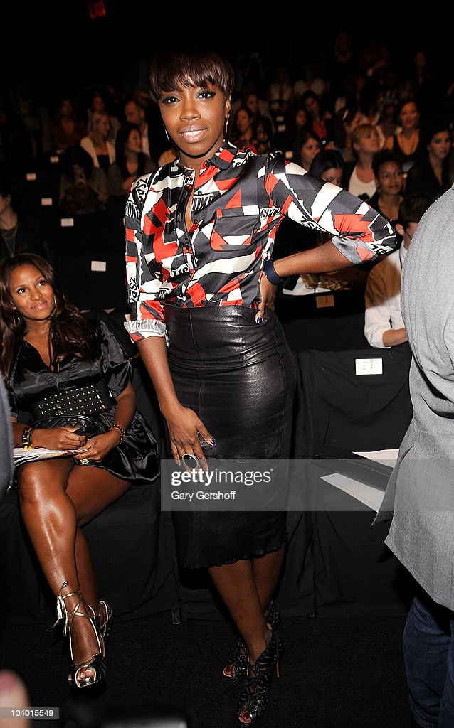 Singer Estelle attends the Z Spoke by Zac Posen Spring 2011 fashion show during Mercedes-Benz Fashion Week at The Theater at Lincoln Center on September 11, 2010 in New York City.