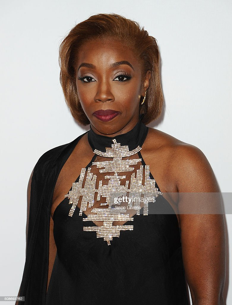 Singer Estelle Fanta Swaray attends the 47th NAACP Image Awards at Pasadena Civic Auditorium on February 5 2016 in Pasadena California