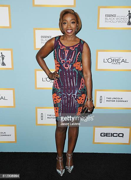 Singer Estelle Fanta Swaray attends the Essence 9th annual Black Women In Hollywood event at the Beverly Wilshire Four Seasons Hotel on February 25...