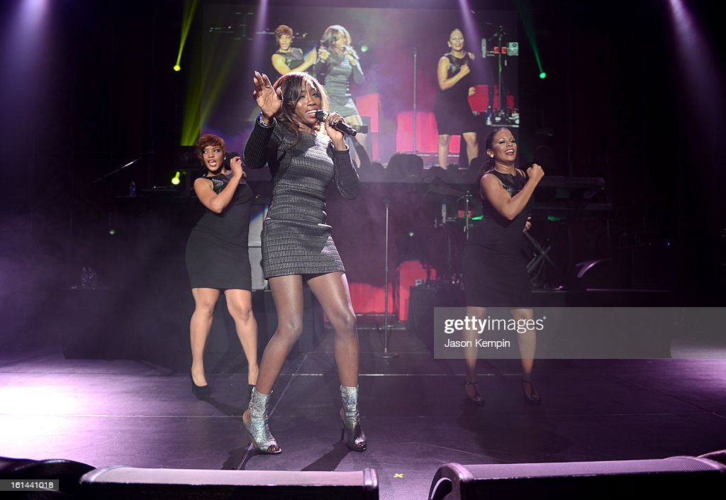 Singer <a gi-track='captionPersonalityLinkClicked' href=/galleries/search?phrase=Estelle+-+Singer&family=editorial&specificpeople=206205 ng-click='$event.stopPropagation()'>Estelle</a> performs at the 55th Annual GRAMMY Awards after party at the Los Angeles Convention Center on February 10, 2013 in Los Angeles, California.