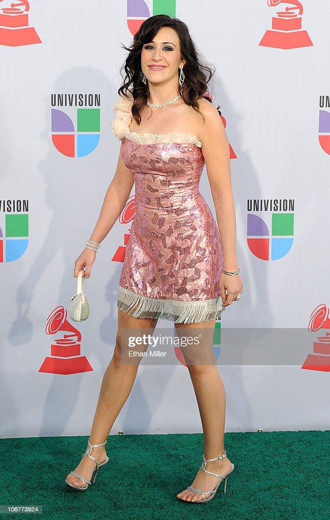 Singer Estrella Morente arrives at the 11th annual Latin GRAMMY Awards at the Mandalay Bay Resort & Casino on November 11, 2010 in Las Vegas, Nevada.