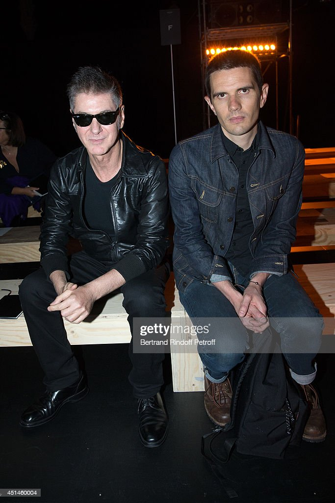 Front row paris fashion week menswear s s 2015 getty for Chambre 29 etienne daho