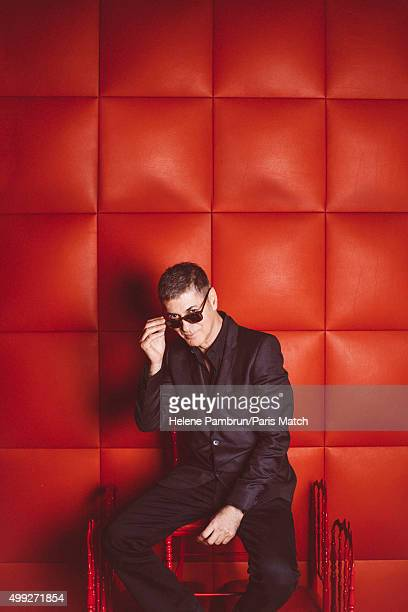 Singer Etienne Daho is photographed for Paris Match on November 9 2015 in London England