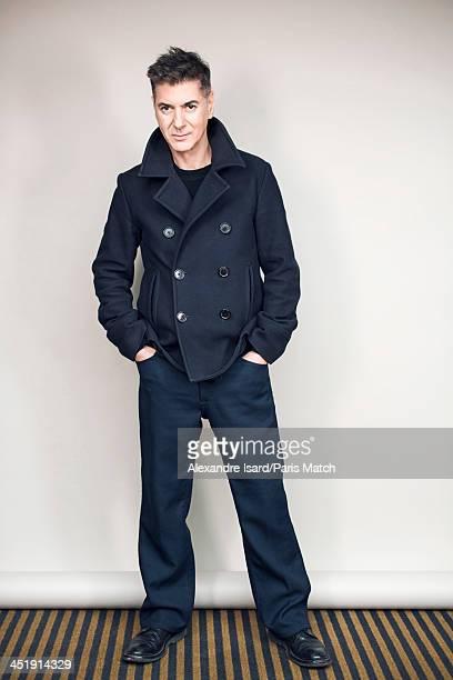 Singer Etienne Daho is photogrpahed for Paris Match on November 5 2013 in Paris France