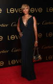 Singer Eve arrives at the third annual Loveday celebration and Cartier Love Charity Bracelet launch held at a private residence on June 18 2008 in...