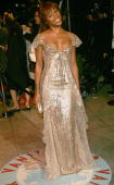Singer Eve arrives at the Vanity Fair Oscar Party at Mortons on March 5 2006 in West Hollywood California