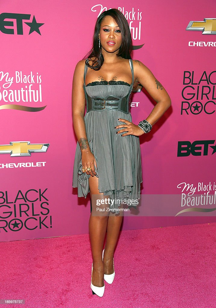 Singer Eve attends Black Girls Rock! 2013 at New Jersey Performing Arts Center on October 26, 2013 in Newark, New Jersey.