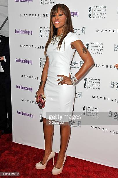 Singer Eve attends Good Housekeeping's Annual Shine on Awards honoring remarkable women at Radio City Music Hall on April 12 2011 in New York City