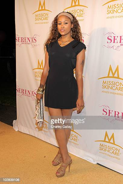 Singer Eve attends professional tennis player Serena Williams' PreESPYs House Party held at a private residence on July 12 2010 in Bel Air California