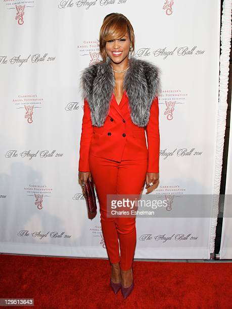 Singer Eve attends the 2011 Angel Ball To Benefit Gabrielle's Angel Foundation at Cipriani Wall Street on October 17 2011 in New York City