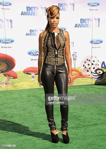 Singer Eve attends the 2011 BET Awards at The Shrine Auditorium on June 26 2011 in Los Angeles California