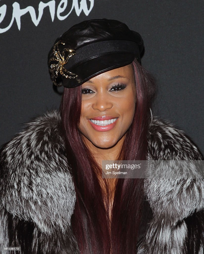 Singer Eve attends the DSQUARED2 x Interview Party at Copacabana on February 10, 2013 in New York City.