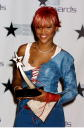 Singer Eve during the First Annual BET Awards June 19 2001 in Las Vegas NV Eve won the award for 'Best Female HipHop' artist