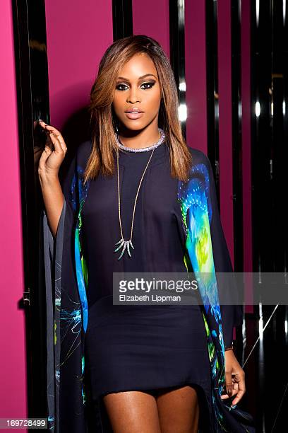 Singer Eve is photographed for New York Post on May 7 2013 in New York City