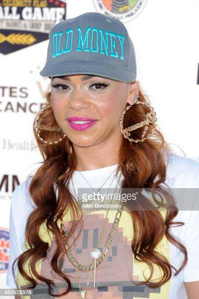Singer Faith Evans attends the 2nd Annual Celebrity Flag Football Game benefiting Athletes VS Cancer at Granada Hills Charter High School on...
