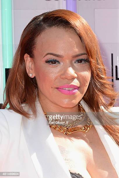 Singer Faith Evans attends the BET AWARDS '14 at Nokia Theatre LA LIVE on June 29 2014 in Los Angeles California
