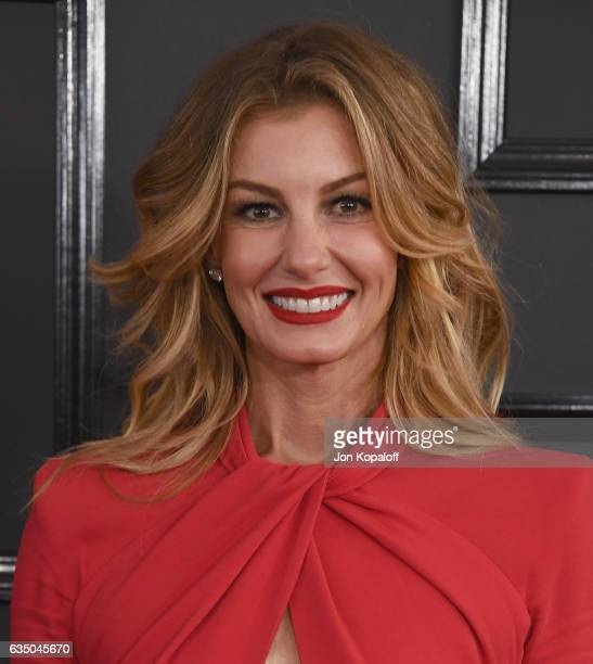Singer Faith Hill arrives at the 59th GRAMMY Awards at the Staples Center on February 12 2017 in Los Angeles California