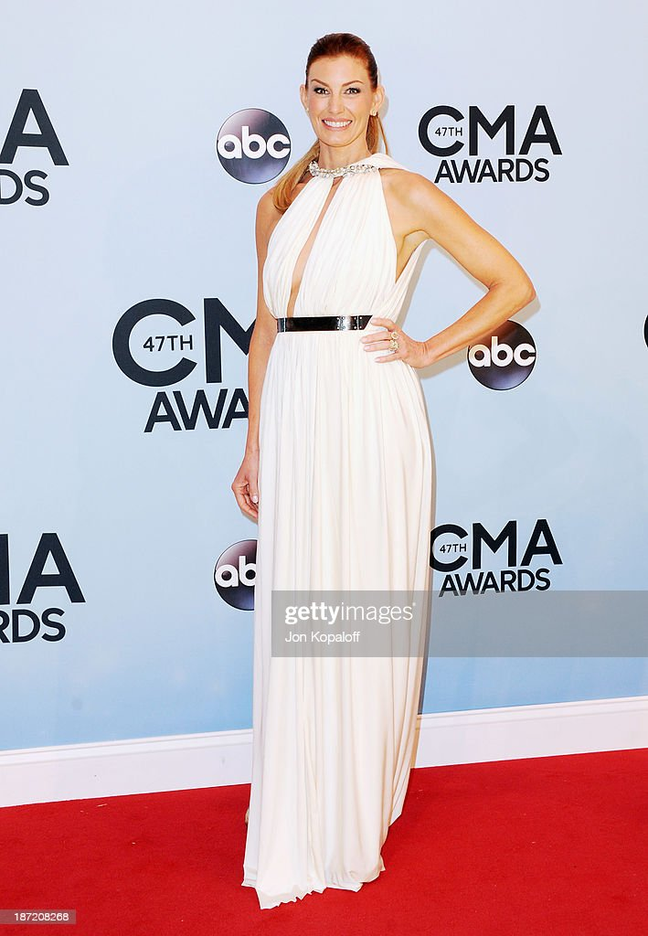 Singer Faith Hill attends the 47th annual CMA Awards at the Bridgestone Arena on November 6, 2013 in Nashville, Tennessee.